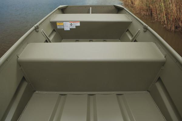 2015 Tracker Boats boat for sale, model of the boat is Topper 1036W Riveted Jon & Image # 3 of 7