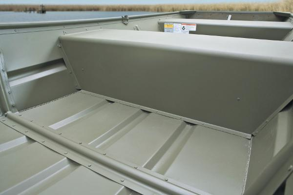 2015 Tracker Boats boat for sale, model of the boat is Topper 1236W Riveted Jon & Image # 3 of 7