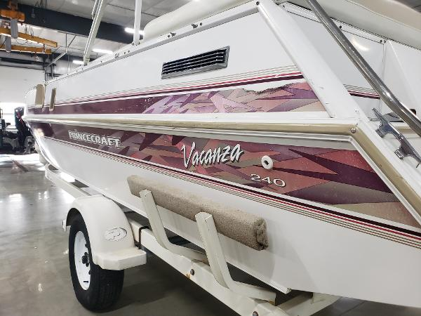 1999 Princecraft boat for sale, model of the boat is Vacanza 240 io & Image # 7 of 34