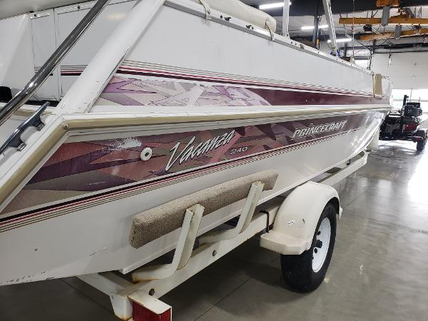 1999 Princecraft boat for sale, model of the boat is Vacanza 240 io & Image # 11 of 34