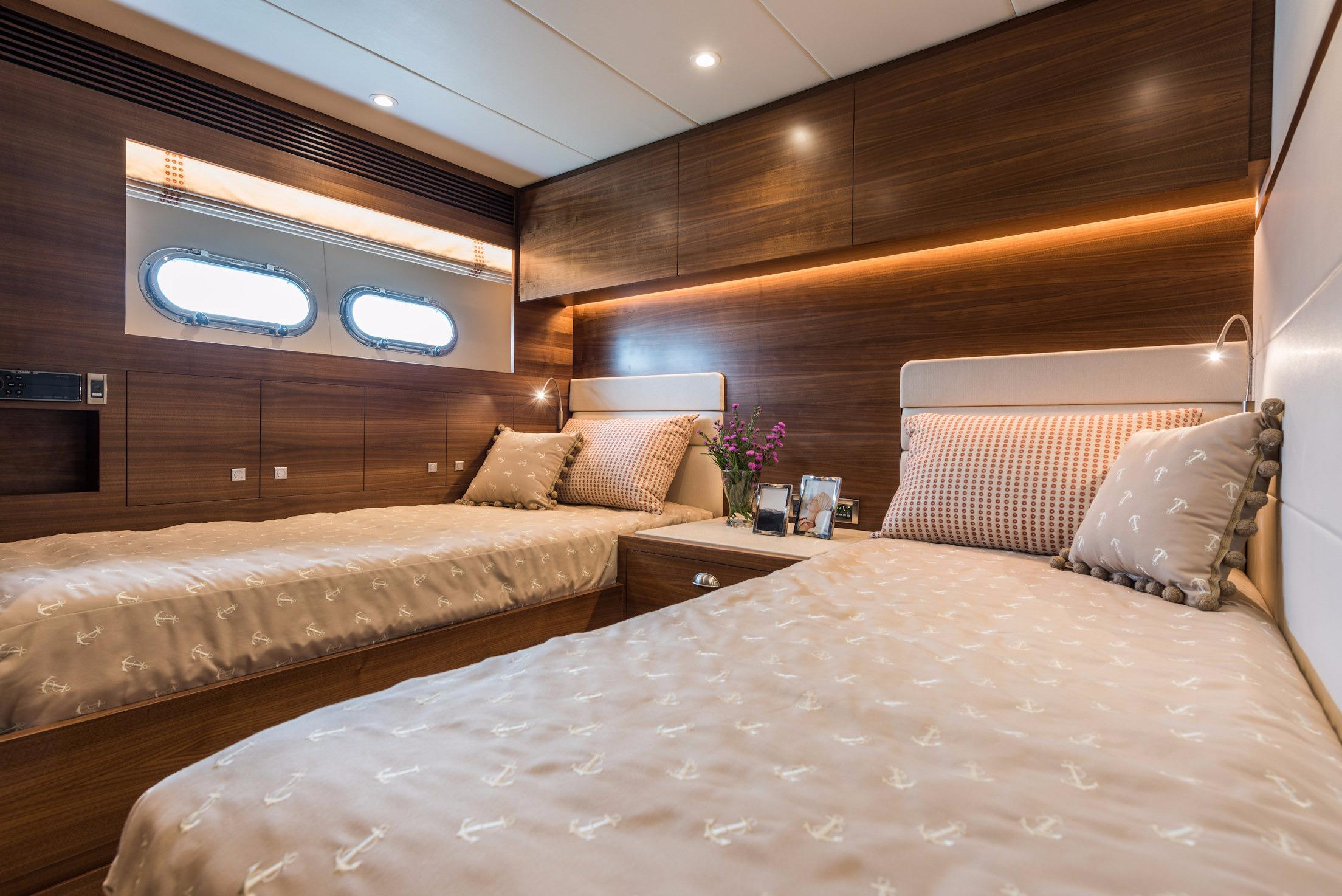 Manufacturer Provided Image: Starboard Twin Stateroom