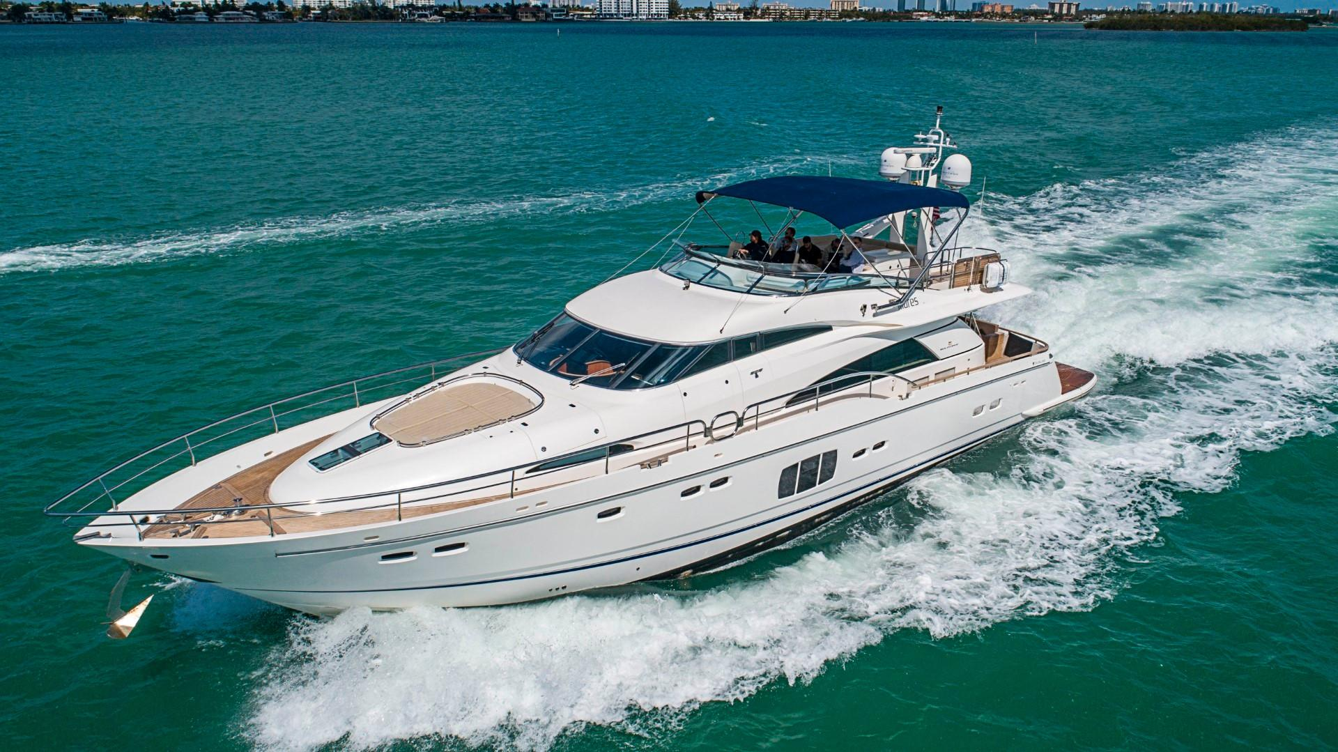 2012 Fairline 78 Squadron - Cruising