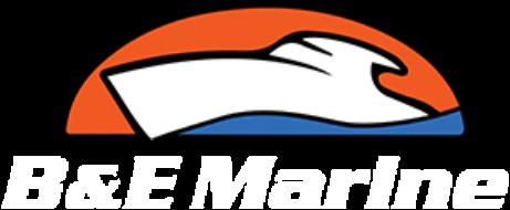 B & E Marine logo