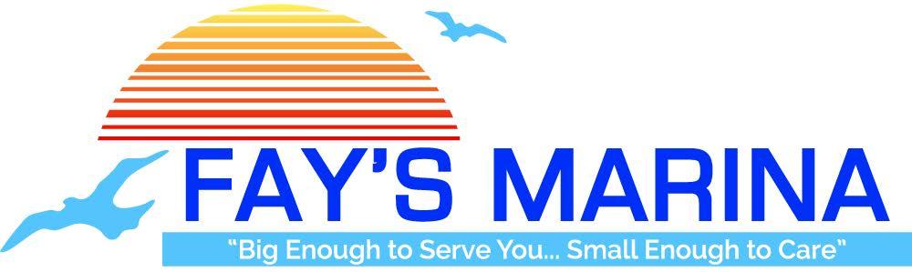 Fay's Marina - FAYS MARINA logo