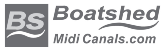 Boatshed Midi Canals